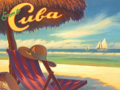 Escape to Cuba-Kerne Erickson-Art Print