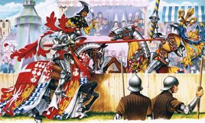 Medieval Joust by Escott