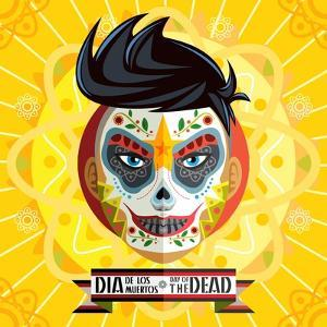 Dia De Los Muertos Day of the Dead Skull Face Painting by escova