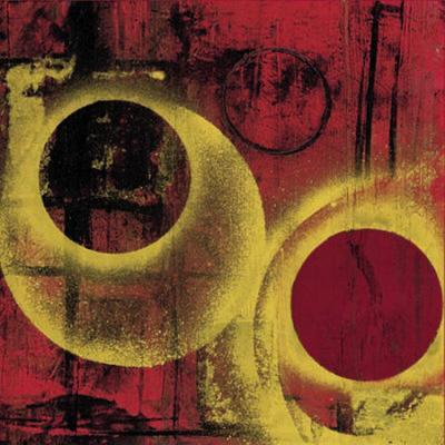 Esfera en Rojo II-Monica Diaz-Art Print