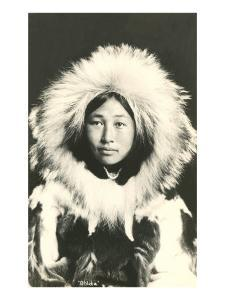 Eskimo in Fur Parka