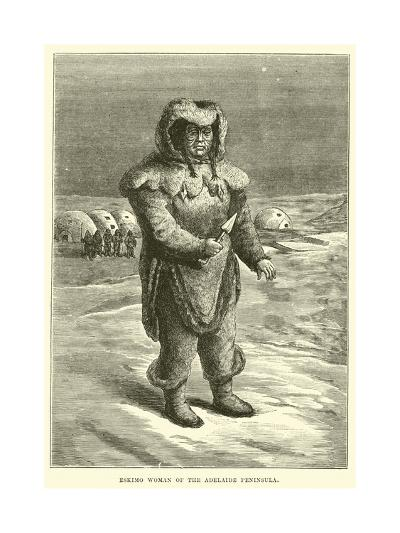 Eskimo Woman of the Adelaide Peninsula--Giclee Print