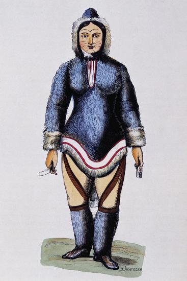 Eskimo Woman--Giclee Print