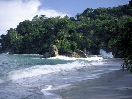 Espadilla Beach Manuel Antonio National Park Costa Rica Photographic Print By Jack Hoehn Jr Art