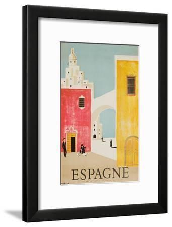 Espagne Poster-Bernard Villemot-Framed Giclee Print
