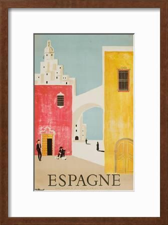 Espagne Poster Giclee Print Bernard Villemot Art Com