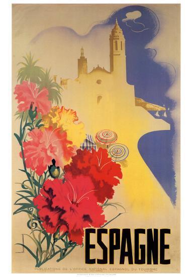 Espagne-Movell-Art Print