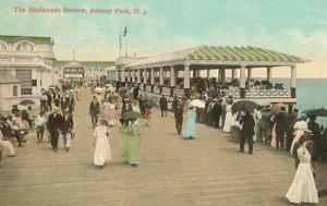 Esplanade, Asbury Park, New Jersey