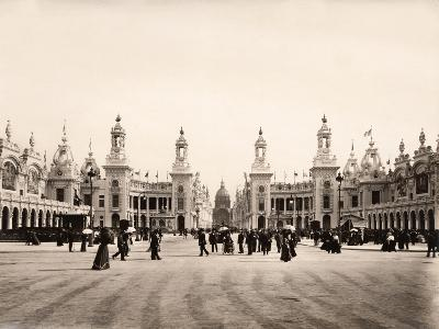 Esplanade Des Invalides During the Exposition Universelle of 1900, Paris--Giclee Print