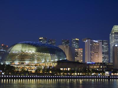 Esplanade Theatres on the Bay, Singapore, Southeast Asia, Asia-Amanda Hall-Photographic Print