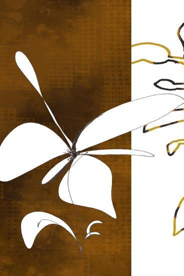 Espresso Floral Three-Jan Weiss-Art Print