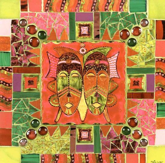 Esprits Frères-Marie Goyat-Art Print