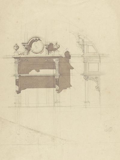 Esquisse de boiserie sculptée-Antoine Zoegger-Giclee Print