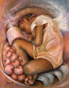 Sleeping Angel by Essud Fungcap