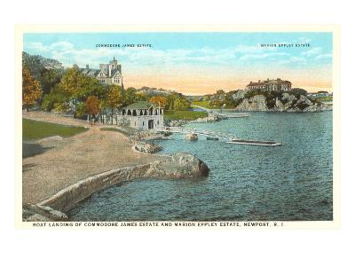 Estates in Newport, Rhode Island--Art Print