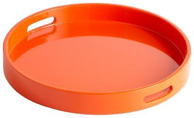 Estelle Orange Tray - Small--Home Accessories