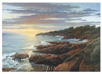 Esterel I-Arthur Chartow-Art Print