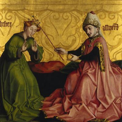 Esther before Ahasver-Konrad Witz-Giclee Print