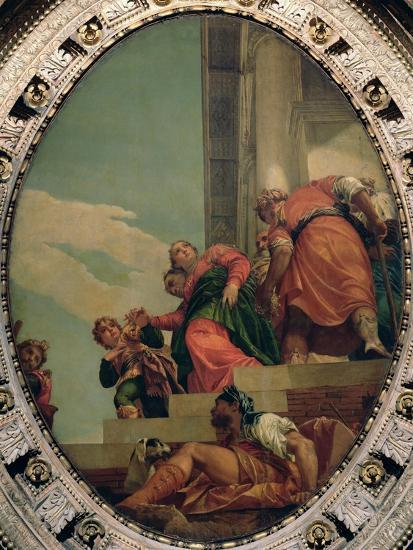 Esther Conducted to Ahasuerus-Paolo Veronese-Giclee Print