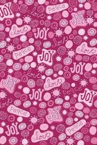 Joy, Love, Peace, Pink by Esther Loopstra