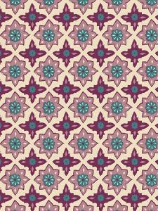 Pink Pattern I by Esther Loopstra