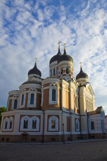 Estonia, Tallinn. View of Alexander Nevsky Cathedral-Jaynes Gallery-Photographic Print