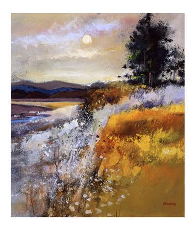Estuary at Twilight-Davy Brown-Collectable Print