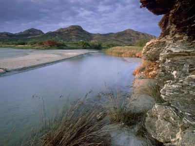 Estuary of Fango River, La Corse, France-Olaf Broders-Photographic Print