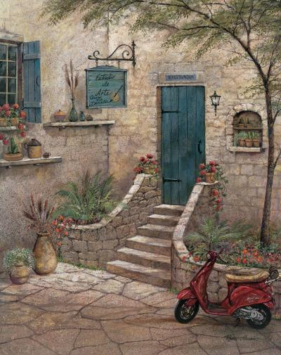 Estudio de Arte-Ruane Manning-Art Print