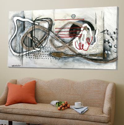 Et On S'Accroche II-Sylvie Cloutier-Loft Art