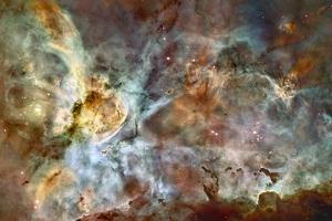 Eta Carinae Nebula, HST Image