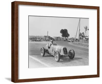 Étancelin in His Maserati at the Dieppe Grand Prix, France, 22 July 1934