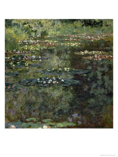 Etang Aux Nympheas, Pond with Water Lillies-Claude Monet-Giclee Print