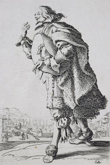Etching from the Noblesse Series-Jacques Callot-Giclee Print