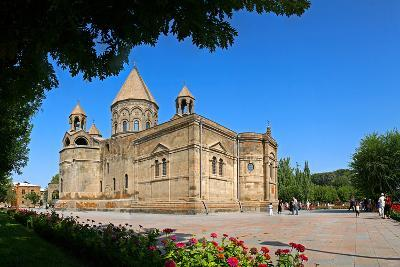 Etchmiadzin Cathedral, Armenia, One of the World's Oldest Churches and a World Heritage Site-Babak Tafreshi-Photographic Print