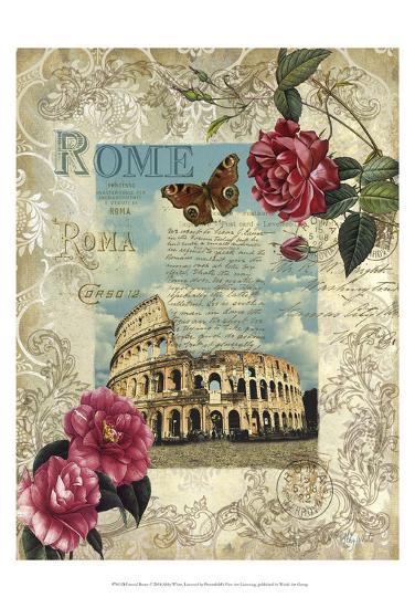 Eternal Rome-Abby White-Art Print