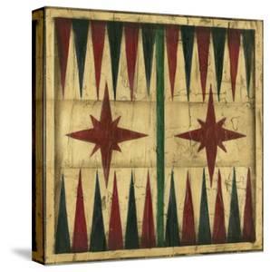 Antique Backgammon by Ethan Harper