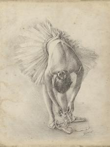 Antique Ballerina Study I by Ethan Harper