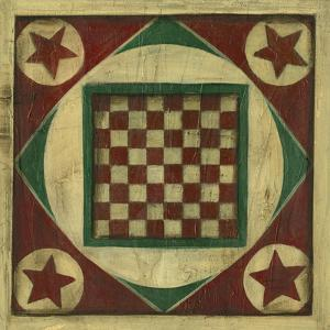 Antique Checkers by Ethan Harper