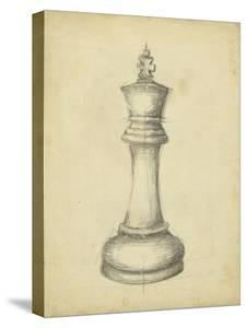 Antique Chess I by Ethan Harper
