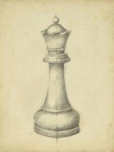 Antique Chess III by Ethan Harper