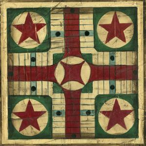 Antique Parcheesi by Ethan Harper