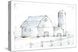 Barnyard Pencil Sketch I by Ethan Harper