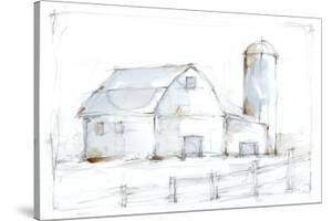 Barnyard Pencil Sketch I by Ethan Harper