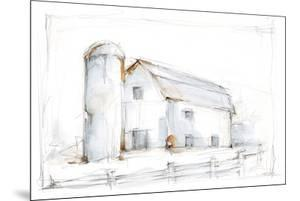 Barnyard Pencil Sketch II by Ethan Harper