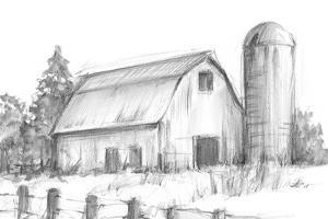 Black & White Barn Study I by Ethan Harper