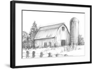Black & White Barn Study I by Ethan Harper