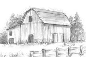 Black & White Barn Study II by Ethan Harper