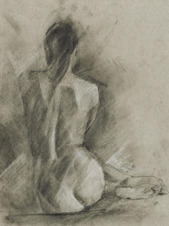 Charcoal Figure Study I by Ethan Harper