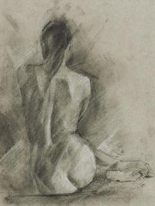 Charcoal Figure Study I by Ethan Harper